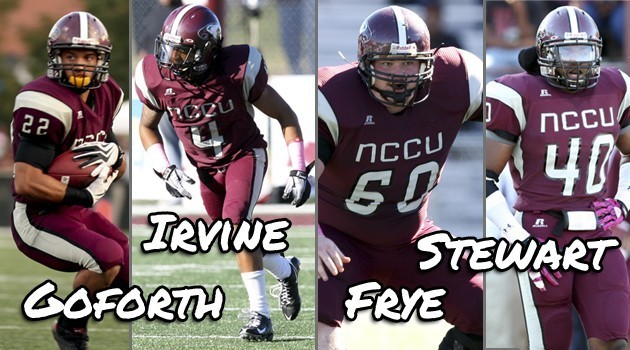 FOUR EAGLES HONORED IN PHIL STEELE'S FCS COLLEGE FOOTBALL MAGAZINE